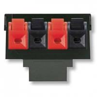 Суппорт акустической розетки, 4-х контактная клемма, стерео - Abb Elektro-Praga