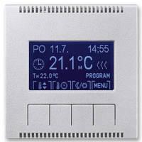 Блок управления универсального программируемого термостата, титан - Abb Neo Tech