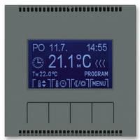 Блок управления универсального программируемого термостата, графит - Abb Neo