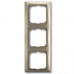 Abb Basic 55. Рамка на 3-поста (тройная) maison-бежевый 2513-99-507