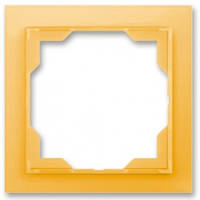 Рамка 1-пост, оранжево-крижаної - Abb Neo