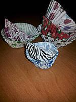 Формы бумажные для выпечки кексов (1000 шт.) (код 92)
