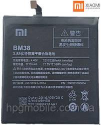 Аккумулятор (АКБ, батарея) BM38 для Xiaomi Mi4s (3210 mAh) оригинал