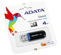 USB Flash Drive 4Gb A-DATA C906 Black / АС906-4G-RBK (-)