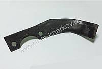 Нож фрезы левый на мотоблок 168F-170F, генератор 2-3,5 кВт, помпу