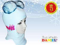 Зимние шлемы для девочек