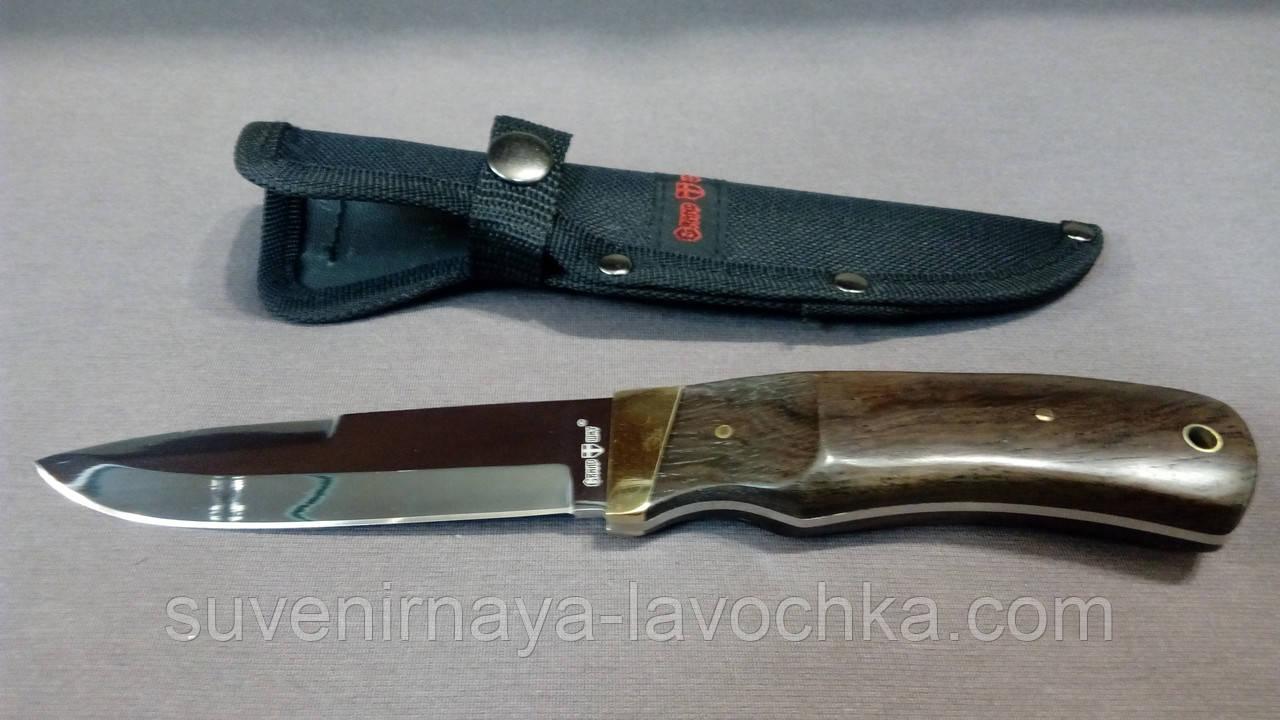 Нож нескладной Разделочный Охотничий Мангуст. Классический Туристический нож