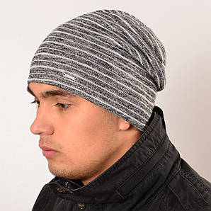 Двойная удлиненная шапка
