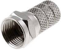 F-коннектор для кабеля 75 Ом