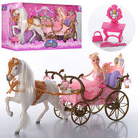 Карета 207 A принцессы с куклой