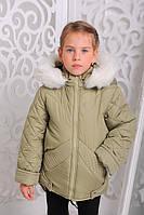 Куртка «Мария», олива 20,22,24,26,28