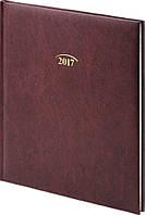 Ежедневник датированный Brunnen Бюро  Miradur бордо, фото 1
