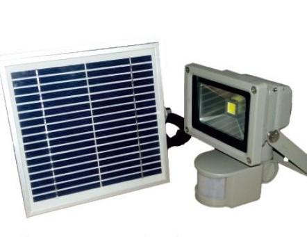 Солнечные LED прожекторы