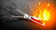 Стрижка гарячими ножицями Jaguar Салон краси «Доміно» Львiв (Сихів)