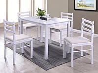 """Комплект стол и стулья """"Фиеста"""" белый"""