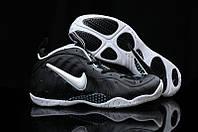 Кроссовки баскетбольные мужские Nike Lebron Foamposite Black-white
