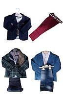 Стильные костюмы для мальчиков 1-6 лет - джинсы, пиджак, рубашка. Новинка!