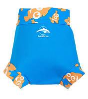 Трусики для плавания Konfidence NeoNappy, Цвет: Cyan/ Clownfish, S/ 3-6 мес (NN141-06), фото 1