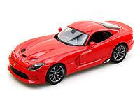 Автомодель Bburago - SRT VIPER GTS (2013) (красный, 1:32)