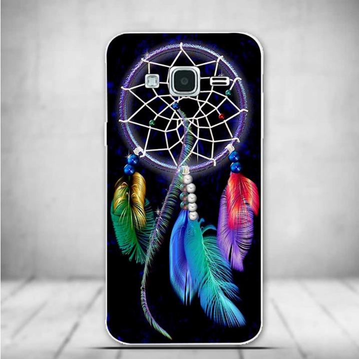 Силиконовый чехол для Samsung Galaxy J3 J300 с рисунком Ловец снов 4