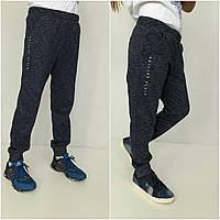 Детские спортивные брюки для мальчика и девочки, цвет джинс