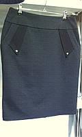 Женская теплая юбка с карманами