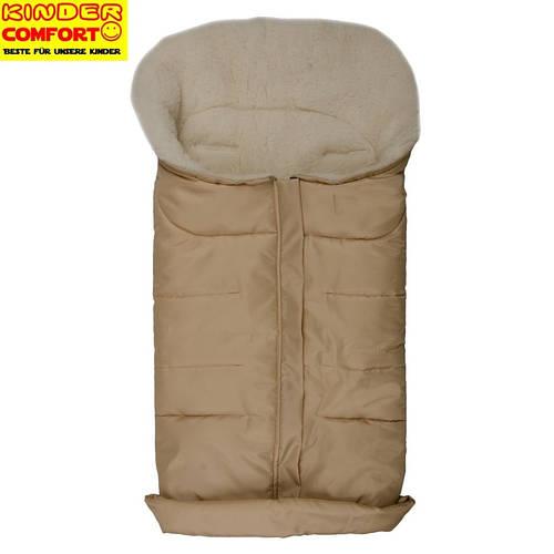 Меховой конверт в коляску и санки Arctic, Kinder Comfort