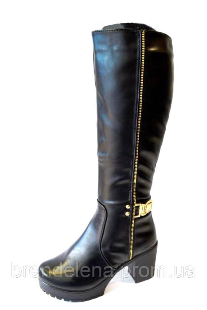 Модні зимові чобітки(р38)розпродаж