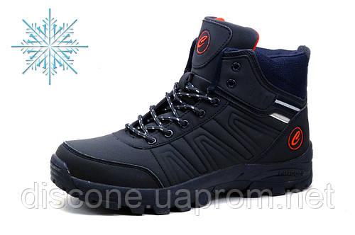 Зимние ботинки Classica, мужские, на меху, темно-синие