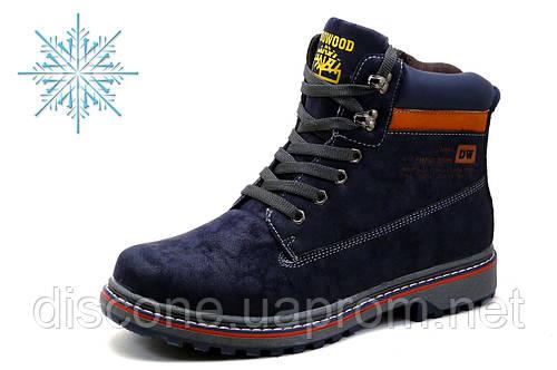 Ботинки зимние Doowood, мужские, темно-синие
