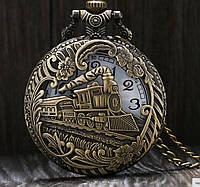 Мужские винтажные карманные часы (4,5 см), фото 1