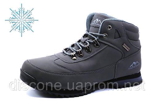 Зимние ботинки Bonote, мужские, на меху, серые