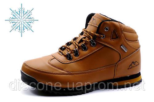 Зимние ботинки Bonote, мужские, на меху, рыжие