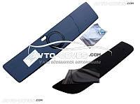 Накладки на радиаторную решетку зимние для Fiat Doblo I (2001-2012) глянец верх+низ