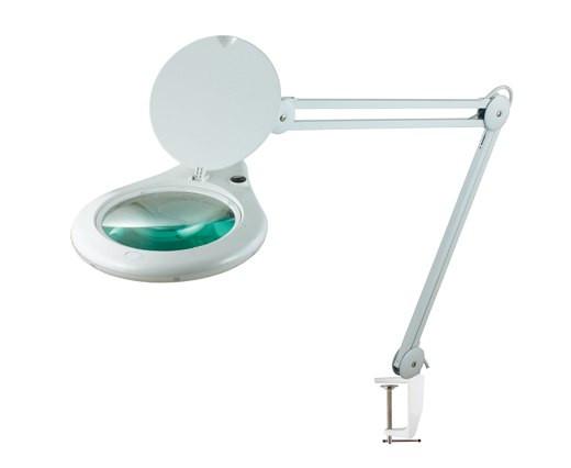 Лупа-лампа 5 диоптрий 180мм с люминисцентной подсветкой косметологическая 8062D3-4C
