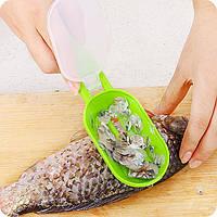 Нож для чистки рыбы с контейнером, фото 1