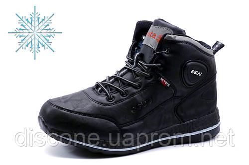 Зимние ботинки  SAYOTA, мужские, на меху, черные