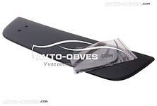 Накладка на радиаторную решетку зимняя для Fiat Doblo I (2006-2012) нижняя матовая