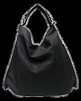 Женская сумка из искусственной кожи черного цвета CZX-896180