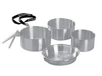 Набор посуды в поход KingCamp CAMPER 3 (Silver) KP3902