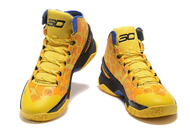 Under Armour Curry giraffe pattern 2