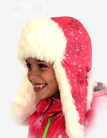 Зимняя Шапка для девочки, фото 1