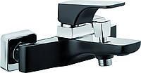Смеситель для ванны Deante HIACYNT без душевого комплекта, хром/черный