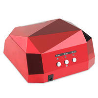 Гибридная лампа для гель-лаков и геля УФ LED+CCFL (36 Вт)