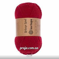 Kartopu Melange Wool - 2117 червоний