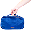 Прямоугольный дорожный органайзер для косметики ORGANIZE  (синий), фото 3