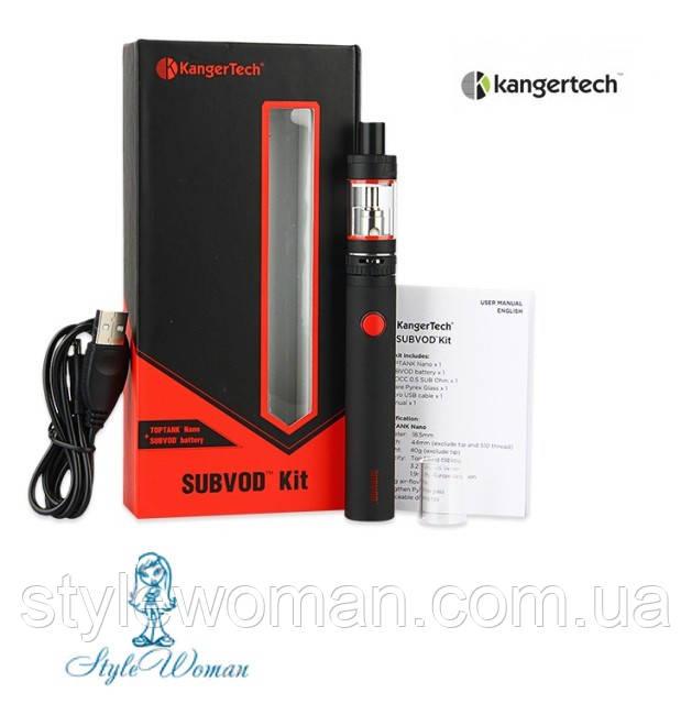 Електронна сигарета KangerTech SUBVOD 1300 мАч Black