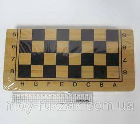 "Игра ""Шахматы, шашки, нарды 3 в 1"", деревянная коробка 30*30 см."