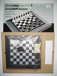 """Игра """"Шахматы и шашки магнитные"""" поле 230*230 мм."""