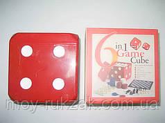 """Игра настольная """"6 in Game in  Cube"""" 6 в 1"""